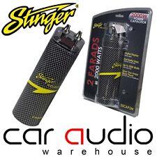Stinger SSCAP2M 2 Farad 2000 Watts Car Amp Amplifier Digital Power Cap Capacitor