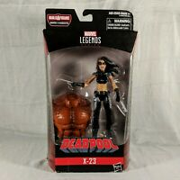 Marvel Legends Deadpool Series X-23 X-Force Sasquatch BAF WOLVERINE CLONE Hasbro