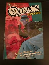 THE QUESTION PIPELINE TPB DC COMICS VERY RARE OOP