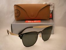 Clubmaster ray ban Blaze (RB3576N-043 71 47) brusched Oro Con Lente Verde  Oscuro d25b1d6b328