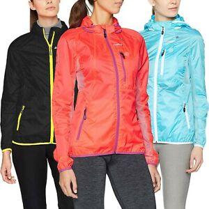 Gregster Damen Laufjacke Kapuze Leichte Sportjacke Wasserabweisend Jacke Outdoor