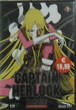 DVD CAPITAN HERLOCK  The endless odyssey vol.3  -Shin Vision- nuovo e blisterato