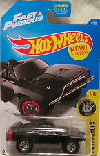 2017 Hot Wheels A MEDIDA '70 Dodge Charger Fast & Furious Real Riders ruedas