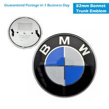82MM Front Badge Emblem Logo Bonnet Hood 2 Pins For BMW E39 E46 E60 E38 X3 X5