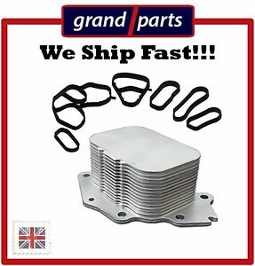 Oil Cooler PEUGEOT 107 206 207 208 307 308  1.4HDi  1.6HDi  1103N9 + GASKETS