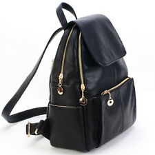 Women's Backpack Travel PU Leather Handbag Rucksack Shoulder School Bag