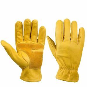 Hand Gloves Genuine Leather Motorcycle Motocross Motorbike Biker Driving Tool