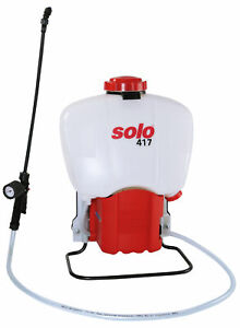 Solo Comfort 417 Knapsack Backpack Battery Operated Pressure Sprayer 18 Litre