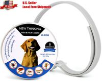 Flea and Tick Collar for Dogs - Enhanced with Natural Essential Oils - 8 Months