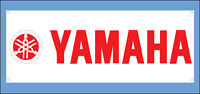 Yamaha Red Vinyl Banner Flag Shop Garage Mancave Sign 1300x500mm Fast Delivery