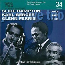 Jazz Live Trio - Slide Hampton 1972  Karl Berger 1978  Glenn Ferris 1981 [CD]