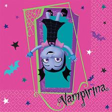VAMPIRINA LUNCH NAPKINS VAMPIRE GIRL HALLOWEEN BIRTHDAY PARTY TABLE DECORATION