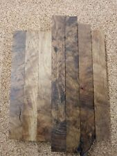 7 White Oak Burl Pen Blanks