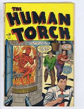 Human Torch Comics #33 Superior Pub 1948 CANADIAN EDITION Captain America Story