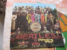 """THE BEATLES Sgt Pepper's Lonely Hearts UK 1st RARE """"WIDE SPINE"""" COVER"""