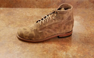 New! Wolverine '1000 Mile' W40498 Boot Camouflage Suede Mens Size 8 D MSRP $365