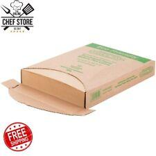 "1000 Pack 12"" x 16"" Brown Half Size Unbleached Parchment Paper Sheet Pan Liner"