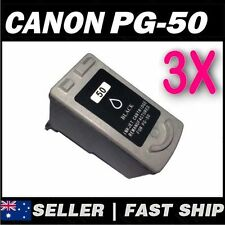 3x Black Ink for Canon PG50 iP2200 iP2400 MP150 MP160 MP170 MP180 MP450 MP460