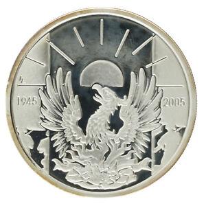 Belgium - Silver 10 Euro Coin - 'Armistice Anniversary' - 2005 - Proof
