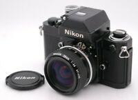 [Near Mint] Nikon F2 Photomic A SN 7912678 + AI NIKKOR 28mm F/2.8 From Japan