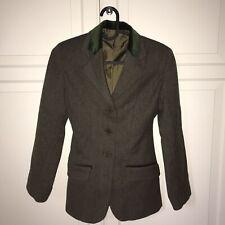 "Child's Tag Green Hacking/Tweed Jacket 28"""
