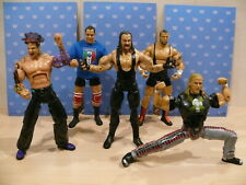 """WWE JAKKS DELUXE AGGRESSION LOT OF 7"""" FIGURES THE UNDERTAKER SHAWN MICHAELS"""