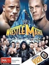 Wrestle Mania XXIX DVD R4 PAL NEW (NOT SEALED) FREE POST