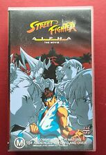 Street Fighter Alpha Movie VHS (New & Sealed) Classic Manga