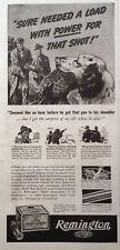 1939 AD(XA26)~DUPONT REMINGTON KLEANBORE NITRO EXPRESS SHELLS