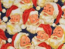Medical_Surgical_ scrub hat_cap_Santa_Christmas_Fun_New_100% cotton_unisex