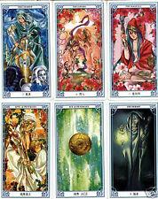 The Rose Knight Tarot 78 manga cards deck***