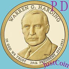 2014 P&D WARREN HARDING PRESIDENTIAL DOLLARS SET FROM MINT ROLL UNCIRCULATED