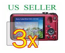 3x Sony CyberShot DSC-HX10V DSC-HX10 Clear LCD Screen Protector Guard Film