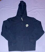 Miami Dolphins Hoodie Ladies Large Navy Full Zip Reebok NFL Womens