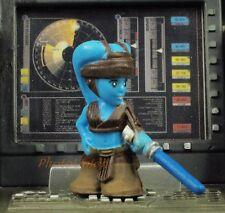 K806 Hasbro Star Wars Fighter Pods Micro Heroes Aayla Secura Jedi Knight Model