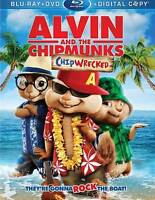 Alvin and the Chipmunks: Chipwrecked (Blu-ray Disc 2012) FACTORY SEALED