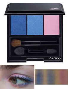 Shiseido The Makeup Luminizing Satin Eye Color Trio BL310 Blue+Perfect Mascara