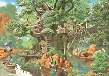 1000 piece jigsaw puzzle Disney mysterious forest tree house in the hidden pictu