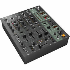 NEW Behringer DJX900USB Professional 5-Channel DJ Mixer, Digital-FX, USB,BPM, EQ