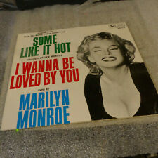 Marilyn Monroe ~ Some Like it hot / I wanna be loved by you - Ua - Ep with Ps