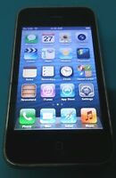 Apple iPhone 3GS 16GB Black AT&T Good Condition Fully Functional GREAT DEAL
