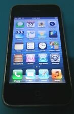 Apple iPhone 3GS 16GB Black AT&T(GSM UNLOCKED) Good Condition Fully Functional