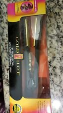 "Gold 'n Hot 2"" Professional Gokd-Tone Crimping Iron"