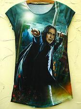 HARRY POTTER Black Milk Shirt Prof.SNAPE Attack Blackmilk Severus 34 S Rickman