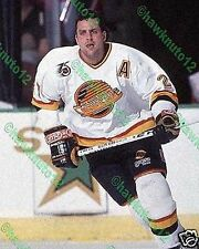 Sergio Momesso VANCOUVER CANUCKS 8 X 10 color glossy PHOTO NHL HOCKEY #MSV71Zxgs