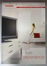 TOSHIBA Electronics Television &Home Entertainment Product Catalogue 2005 / 2006