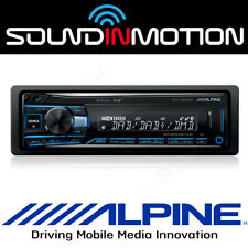 UTE-204DAB ALPINE Digital Media/DAB Receiver with advanced Bluetooth