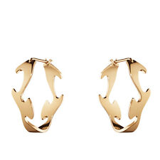 Georg Jensen Rose Gold Earrings - Fusion #1368A