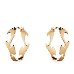 Georg Jensen Rose Gold Earrings - Fusion #1368A