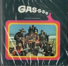 GASSSS - MUSIC FROM THE SOUNDTRACK - JOHNNY & THE TORNADOS /  ROBERT CORFF ETC